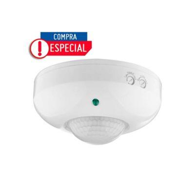 Sensor de Movimiento para Techo 360° Alcance 6 Metros - HL-95512