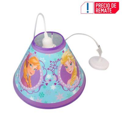 Lámpara Colgante Cónica Frozen 1 Luz Rosca E27 Estampada