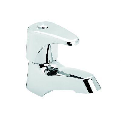 Grifería lavamanos sencilla Dalia, Incluye: Acople Griflex, Desagüe, Sifón Botella
