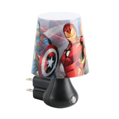 Luz de Noche Led Avengers 2 Luces Estampada