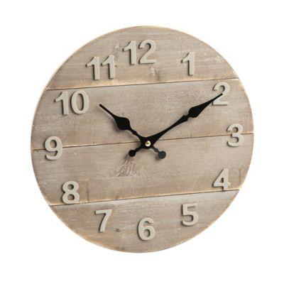 Reloj Fondo Madera 30 cm