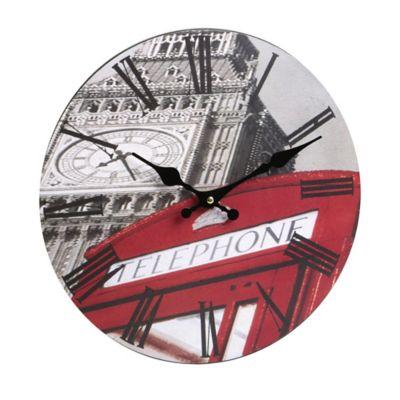 Reloj Bus Cabina 30 cm