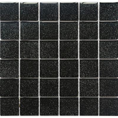 Mosaico Vidrio Black 30X30cm