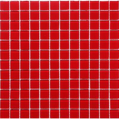 Mosaico Vidrio Red 4mm 30X30cm