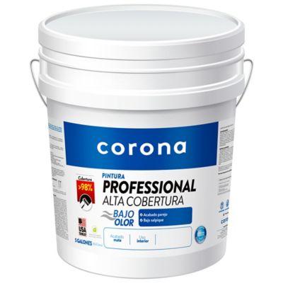 Pintura para Interior Pro Alta Cobertura Blanco 5 Galones