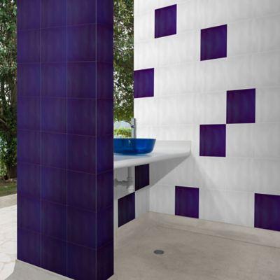 Pared Cerámica Ticino Azul 25x25 cm caja 2 m2