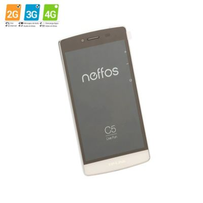 Celular Smartphone Neffos C5 Blanco