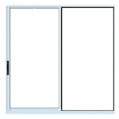Ventana Aluminio 60x40 cm 4 mm Blanca