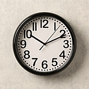 ecfa6cce02b9 Reloj Negro 21 cm