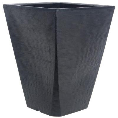 Macetero Trapezio 50 x 37 x 24 cm Negro