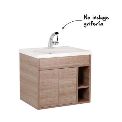 Mueble de baño Trantra Olmo 60 cm con lavamanos