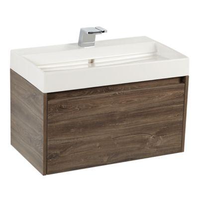 Mueble de baño Fussion Siena 80 cm con lavamanos