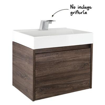 Mueble de baño Fussion Siena 60 cm con lavamanos