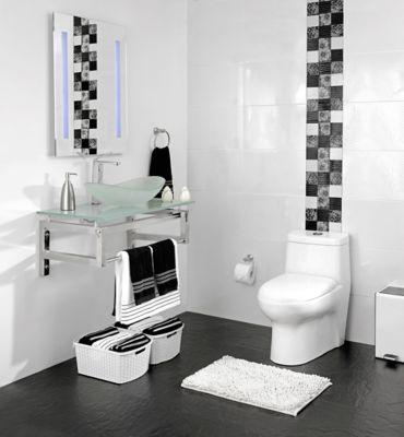 Mueble de baño 80x46 cm con lavamanos Vidrio