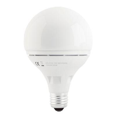 Globo de LED 1000 Lúmenes 12w Luz cálida 30.000 Horas de Vida Útil