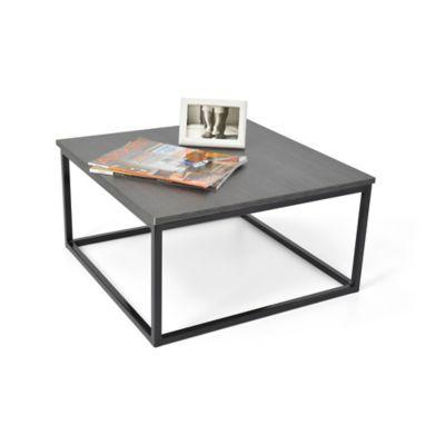 Mesa de Centro Kiel 60x60x31,5 cm Negra