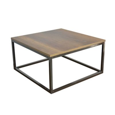 Mesa de Centro Kiel 60x60x31,5 cm Caramelo