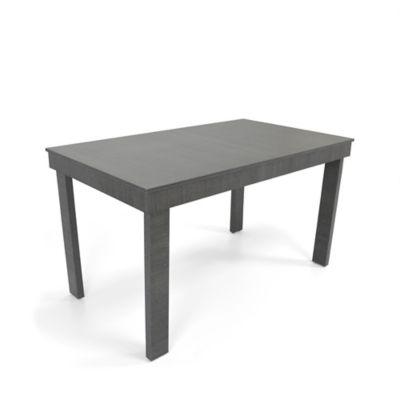 Mesa para Comedor Napoli 80x138x76 cm en Madera Aglomerada Negra