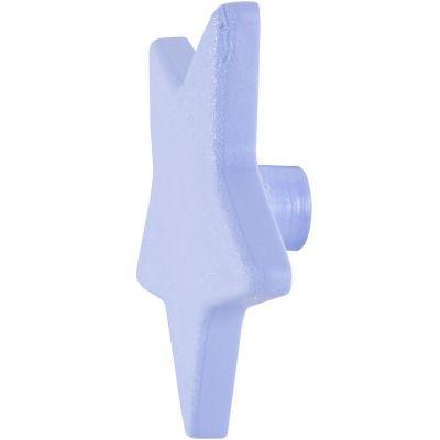 Pomo Estrella Abs Azul 70 Mm