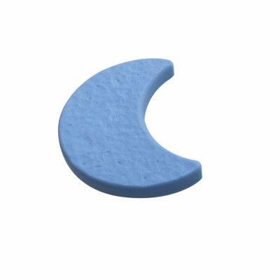 Pomo Luna Abs Azul 70 Mm