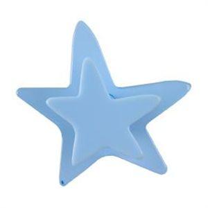 Pomo Metacrilato Estrella 40 Mm