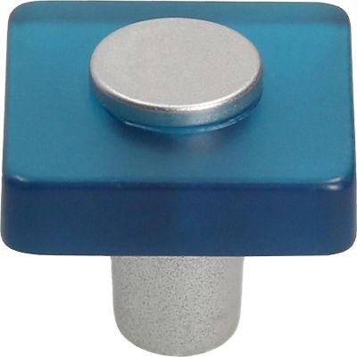 Pomo Metacrilato Azul 30X30 Mm