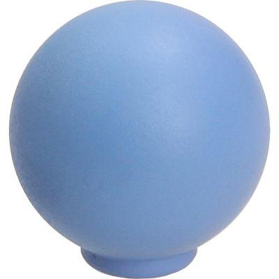 Pomo Bola Abs Azul Mate 29 Mm