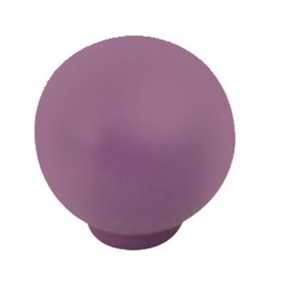Pomo Bola Abs Morado Mate 29 Mm