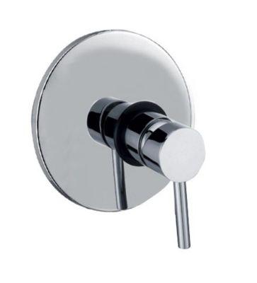 Grifería ducha monocontrol cromo sin salida bañera  Lilo