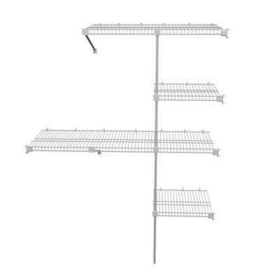 Classic Closet Rejilla Ancho Hasta 2x2x0.4 mt Blanco