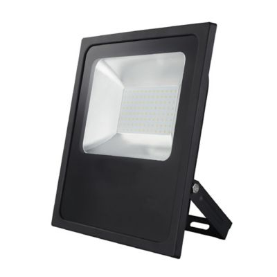 Reflector Negro Slim Led 100W Blanca