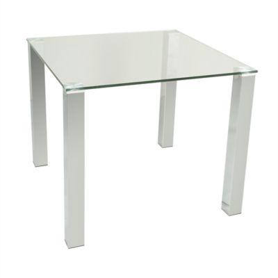 Mesa para Comedor Kante 90x90x75 cm Vidrio