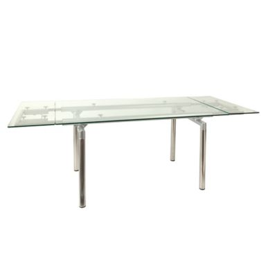 Mesa para Comedor Chopin Vidrio 140/200x80x76 cm
