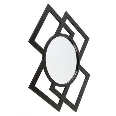 Espejo Decorativo de Pared Tek 64 cm Wengue