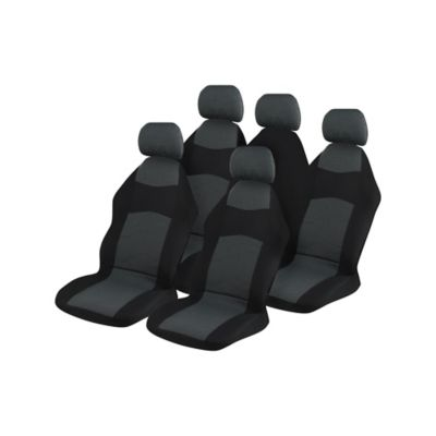 Cubre Asiento Polyester Gris