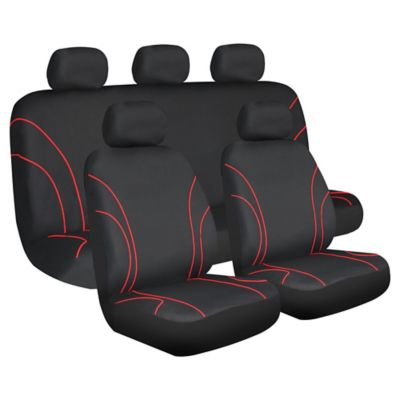 Cubre Asiento Polyester Negro