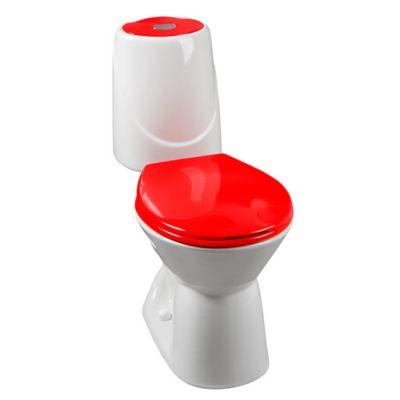 Sanitario Happy bicolor Rojo