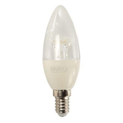 Vela LED 470 Lúmenes 6w E14 Luz Fría