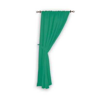 Cortina Lino Visillo 1 Tiro 140x220 cm Verde Jade