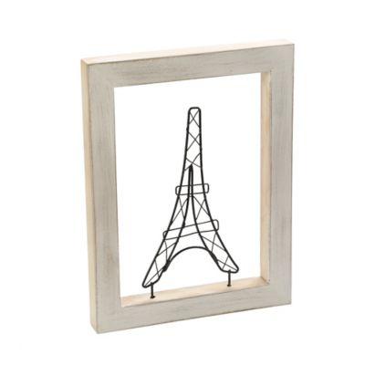 Cuadro Decorativo Figura 18x30 cm Torre Eiffel