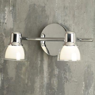 Riel Spot LED Brent 2 Luces 260 Lúmenes 4w Cromo