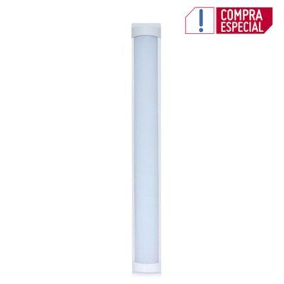 Lampara Regleta LED Sobreponer 16W Blanca