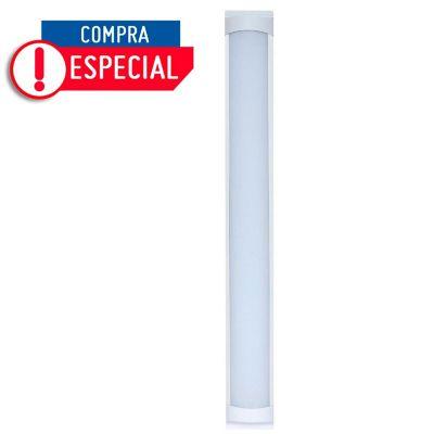 Lampara Regleta LED Sobreponer 32W Blanca