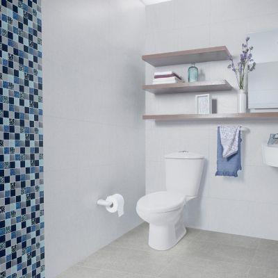 Mosaico Cerámico Ratán 29.7x29.7 Centímetros Azul
