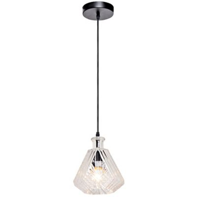 Lámpara Colgante Alanis 1 Luz E27 Vridrio