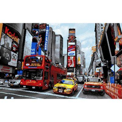 Tapete Entrada Ciudad Taxi 50x80 cm Estampado