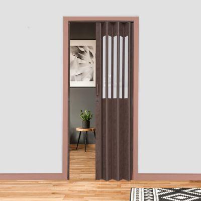 Puerta Principal PVC Onyx Toscana 90x200 cm Vitral