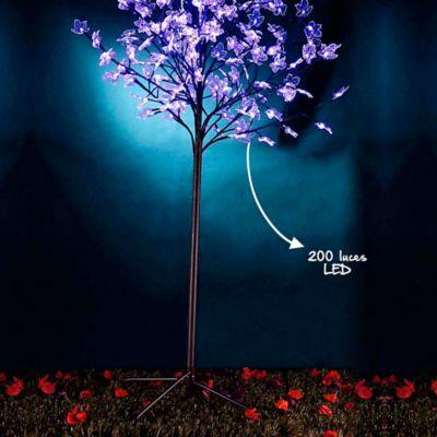 Árbol 150cm 200 Led Azul Maple