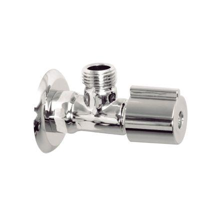 Llave de Regulación Metalica Cromo