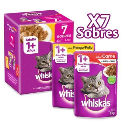 Alimento Húmedo Para Gato Adulto Pollo Y Carne Pack X 7 Sobres